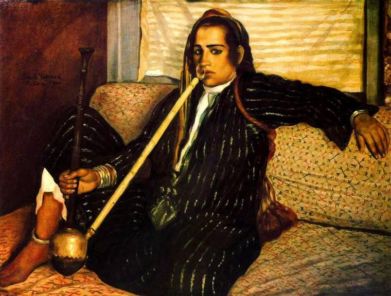 Fumador de Haxixe - Émile Bernard e suas principais pinturas