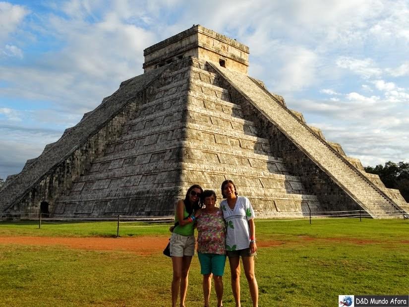 Pirâmide de Kukulcán - construída no século XII d.C. pelos maias - O que fazer em Chichen Itza - México