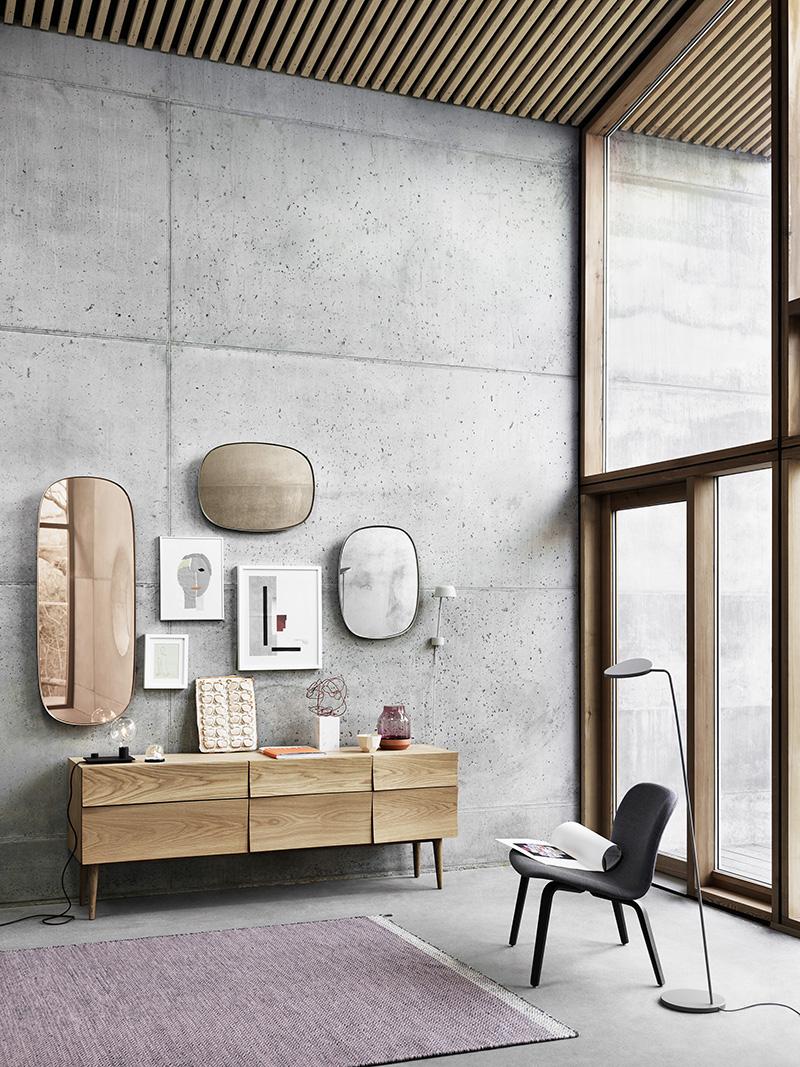 Framed by muuto weekdaycarnival bloglovin - Miroir salle de bain maison du monde ...