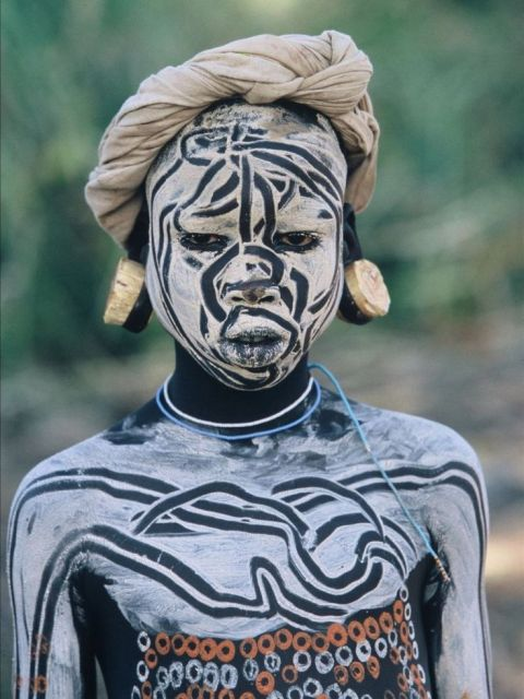 South African Face Painting Designs