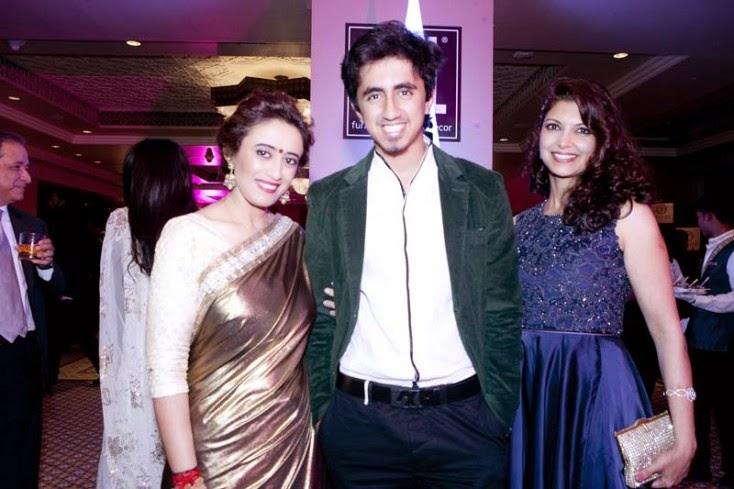 Janvi Gaur, Abhishek Gaur and Leela Dhar, Masala! Awards 2014 Photo Gallery