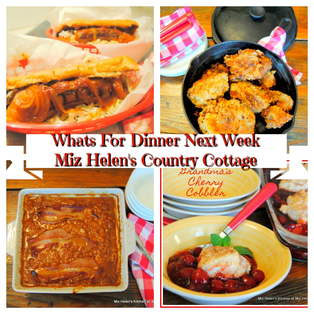 Whats For Dinner Next Week * Week of 6-28-20