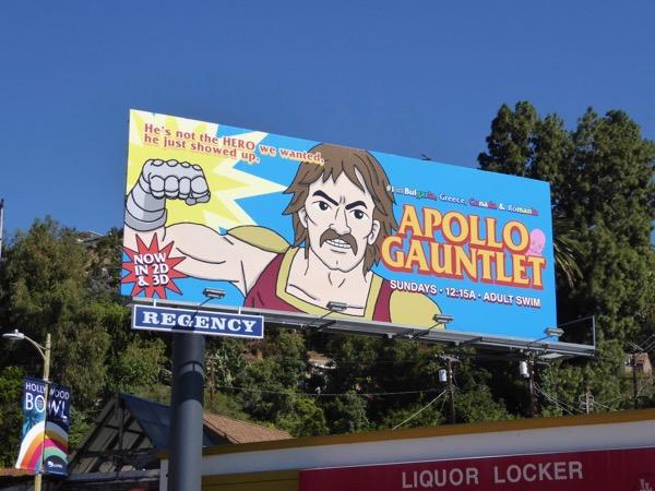 Apollo Gauntlet sereis premiere billboard
