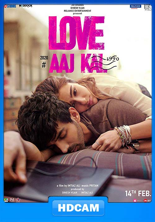 Love Aaj Kal 2020 Hindi PreDVD 720p x264 | 480p 300MB | 100MB HEVC