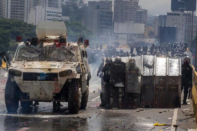 Ofrecen a GNB un bono guarimbero para reprimir manifestantes