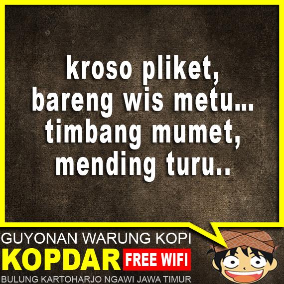 GAMBAR PANTUN LUCU BAHASA JAWA BIKIN NGAKAK SEUMUR HIDUP
