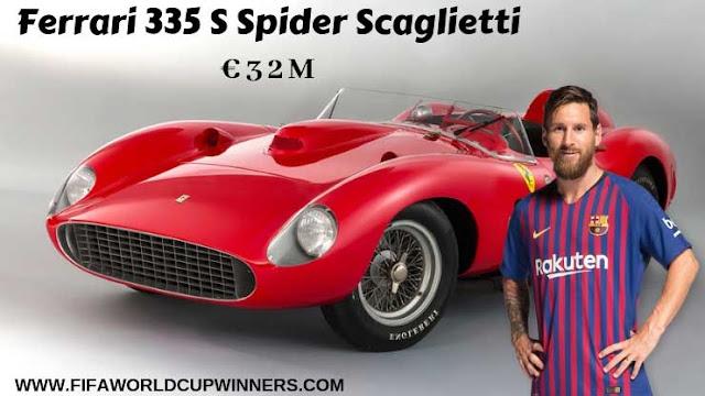 Messi+Car+Collection+Ferrari+335+S+Spider+Scaglietti