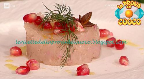 Tartare di pesce ricetta Alessandro Dentone