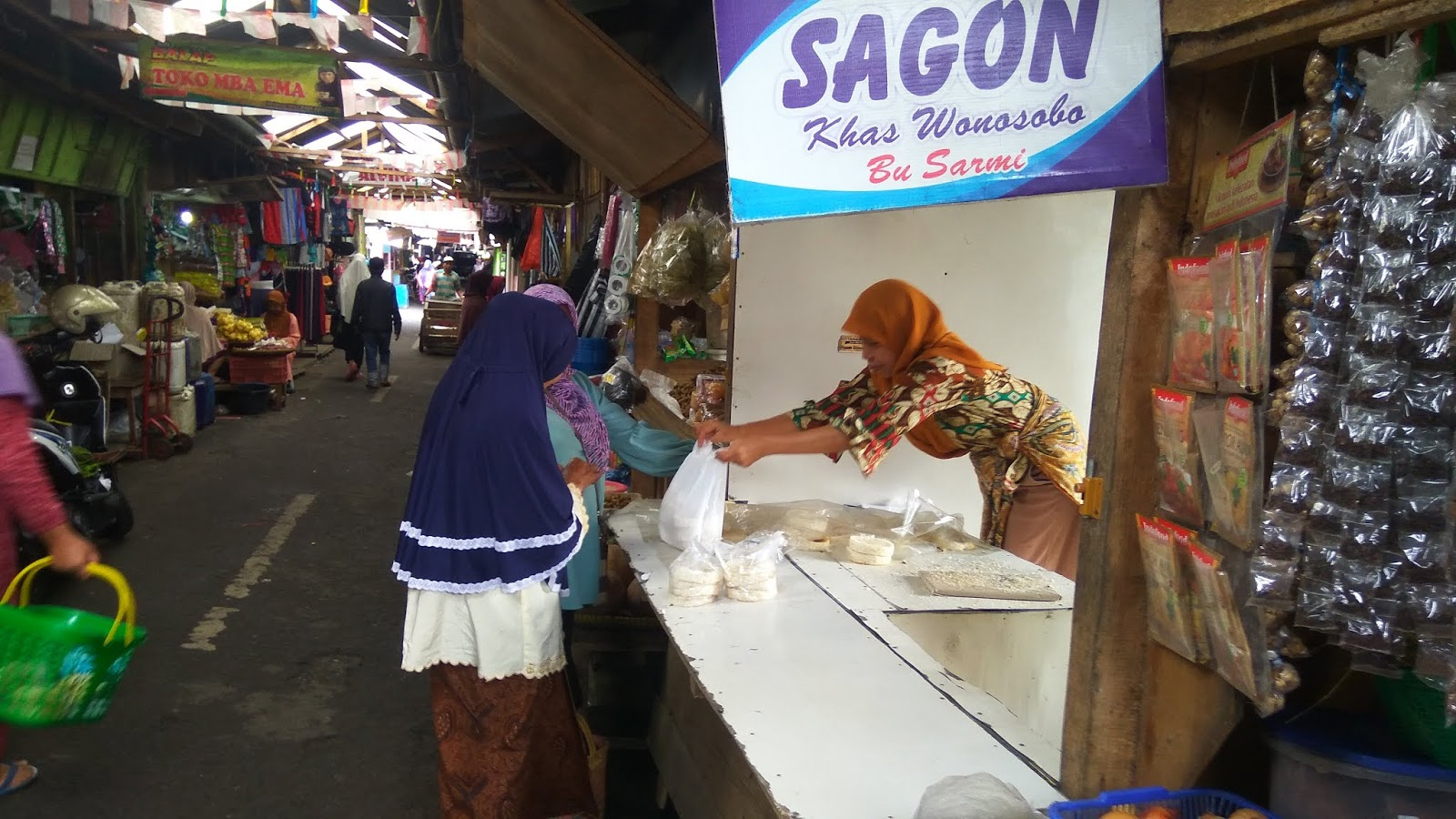 Sagon Basah Khas Wonosobo Bu Sarmi