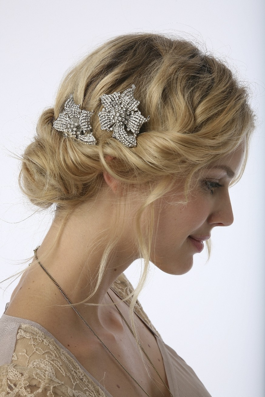 Vintage Amp Lace Weddings Vintage Wedding Hair Styles