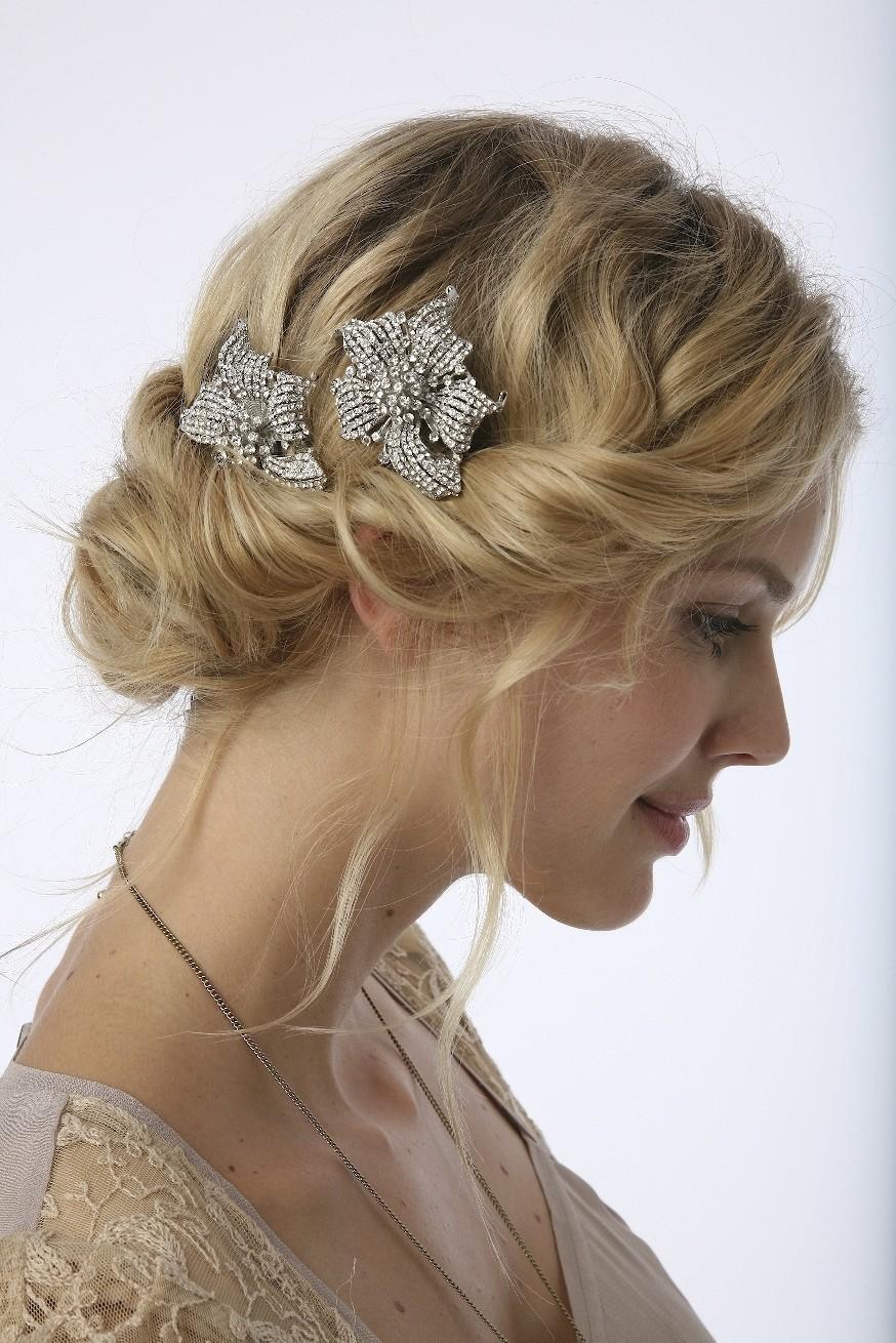 Vintage  Lace Weddings Vintage Wedding Hair Styles