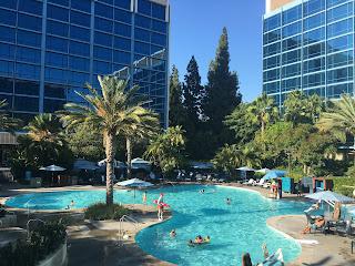 E Ticket Pool Disneyland Hotel