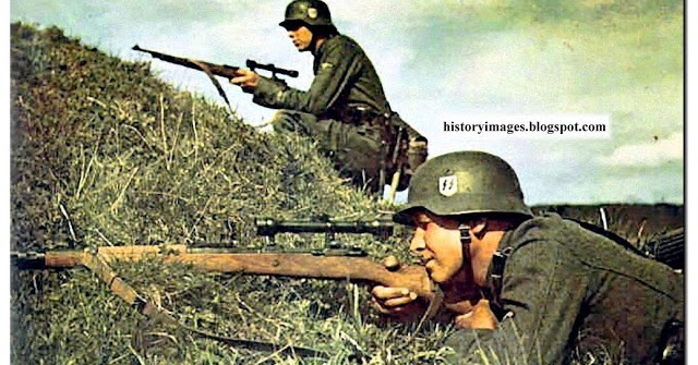 PICTURES FROM WAR AND HISTORY: Waffen SS: Training Made
