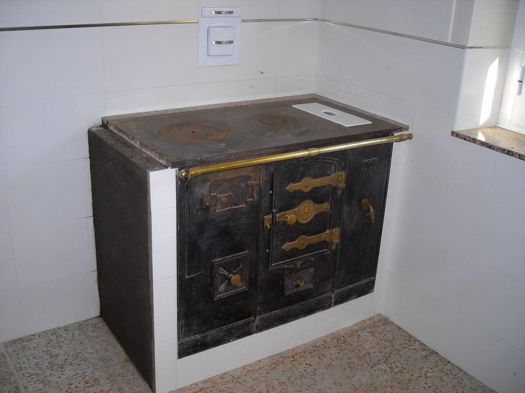 El ti joaqu n com instalaci n de una cocina econ mica for Cocinas de hierro antiguas