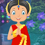 Games4King Traditional Indian Girl Rescue Walkthrough