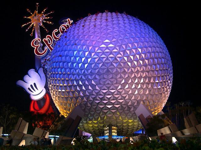 Parque Epcot Center - Melhores parques Orlando