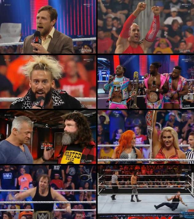 Download WWE Monday Night Raw 18 July 2016 HDTV 480p 500MB