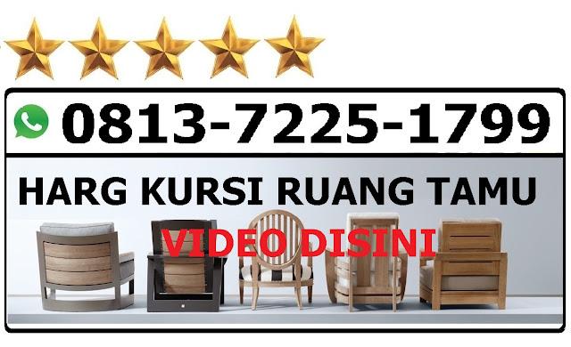 Harga kursi kayu ruang tamu minimalis