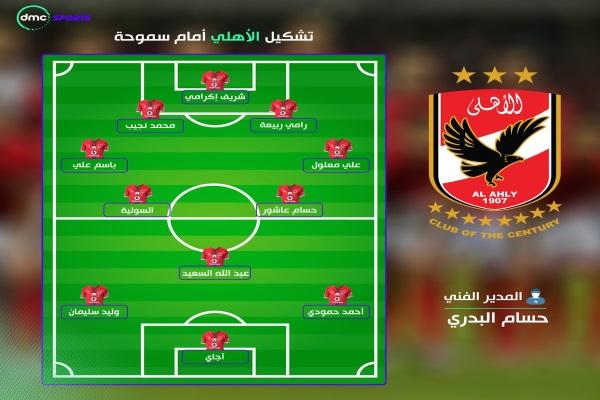 تشكيل الاهلى اليوم فى مباراة الأهلي والمصري  فى نهائي كأس مصر 2017 -  أجايي يقود الهجوم والجوكر بالجبهة اليمنى