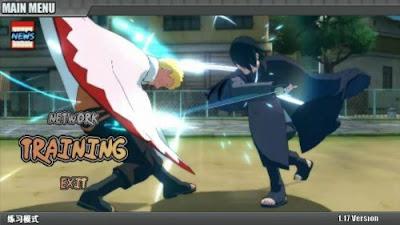 Game Naruto Senki Mod Naruto Mobile Fighter Unlimited Coins Terbaru