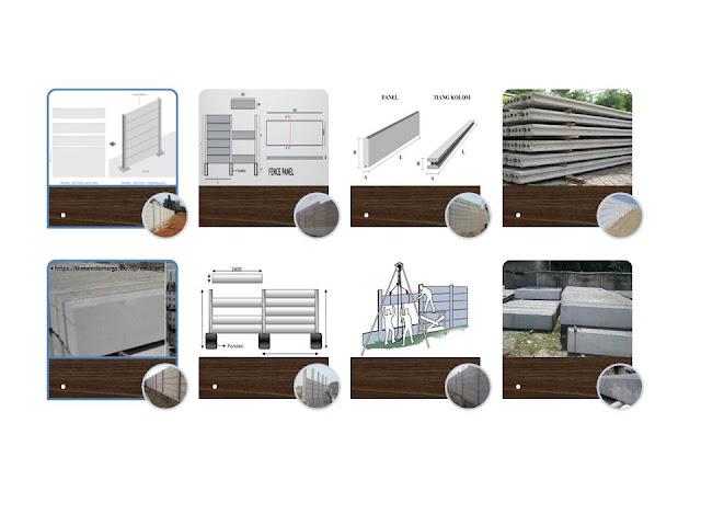 , Pagar Panel Beton