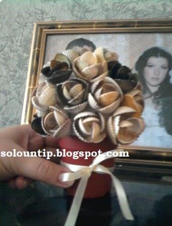 Manualidades rosas con conchas de mar - Como hacer conchas finas ...
