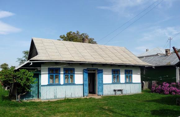 Лужани. Типовий буковинський житловий будинок