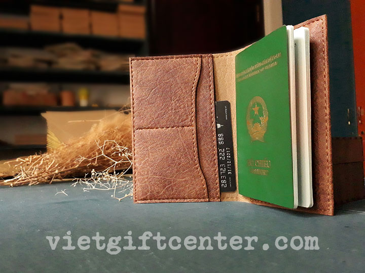 túi đựng passport da PU