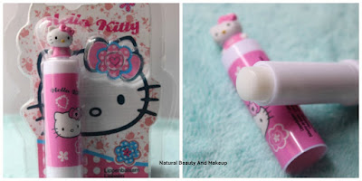 Hello Kitty Blue Berry Figurine Lip Balm