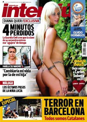Revista Interviú España  21 Agosto 2017