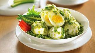Resep Masakan Telur Balado Cabai Hijau Mantap