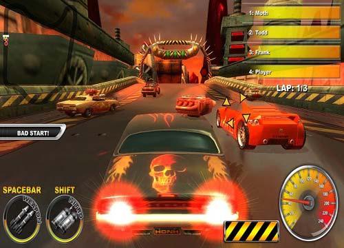 لعبة قتال السيارات Lethal Brutal Racing