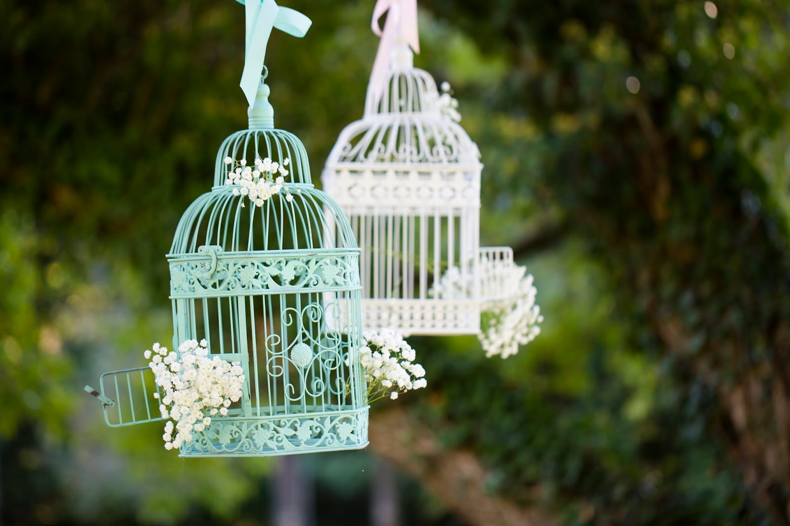 Wedding Wednesday Birdcage Decor The Inspired Hive