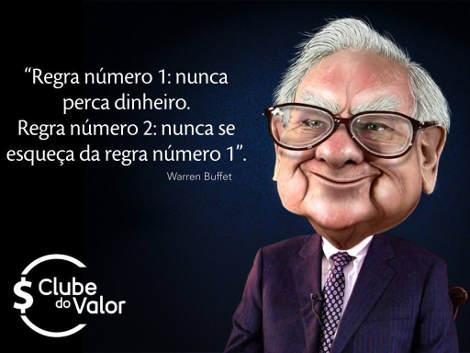 Um dos mais famosos conselhos sobre dinheiro do Sr Warren Buffet