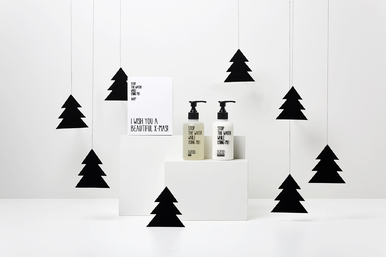 Stop the Water Adventskalender Giveaway Gewinnspiel Verlosung Christmas Kit Geschenkset Lemon Honey