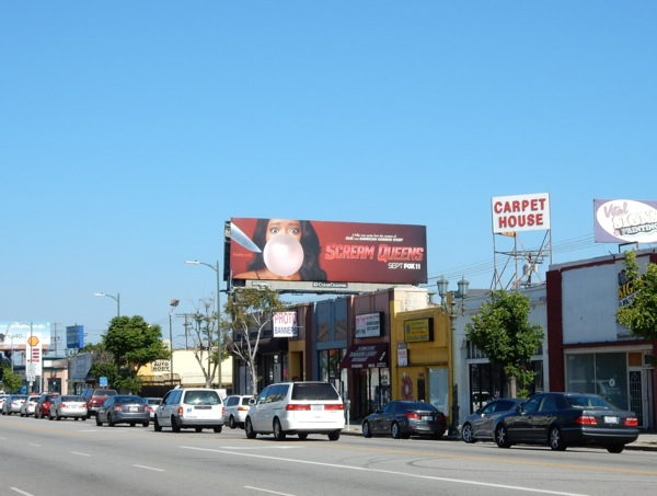 Scream Queens season 1 billboard