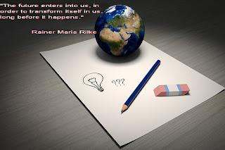 """Райнер Мария Рилке: """"Бъдещето влиза в нас, за да се трансформира в нас, много преди да се случи."""""""