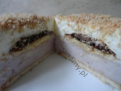 """Ciasto bez pieczenia """"Kostka Królowej"""""""