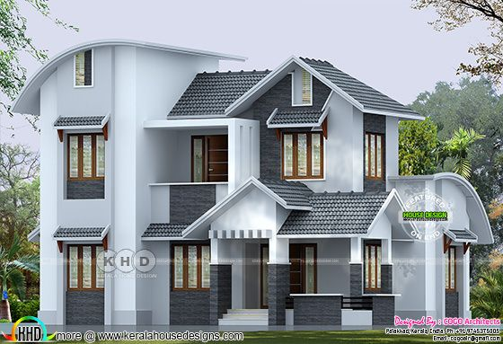 35 lakhs cost estimated modern home