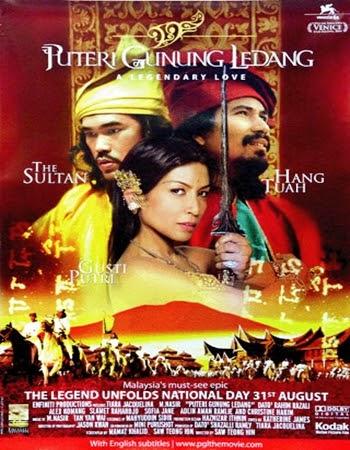 Kisah Malaka dan Majapahit dalam Film Putri Gunung Ledang