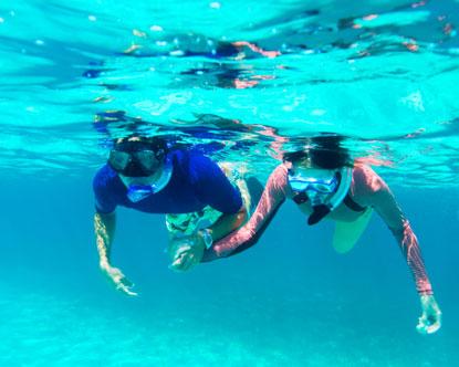 Snorkeling murah di Tanjung Benoa