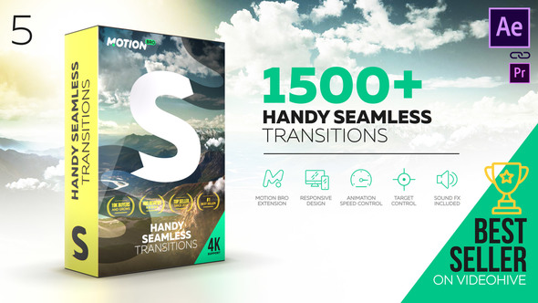 Klmlhh VIDEOHIVE HANDY SEAMLESS TRANSITIONS | PACK & SCRIPT V5 download