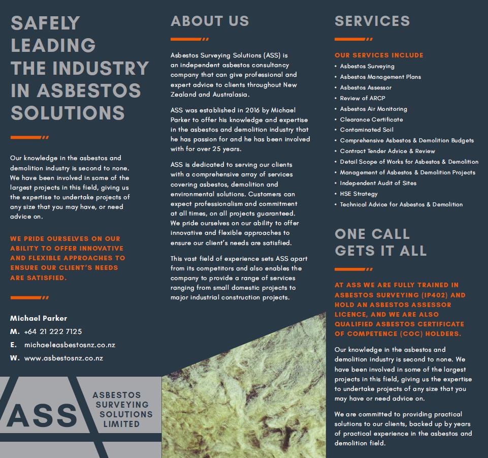Asbestos surveyor jobs new zealand