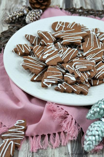 Lebkuchen-Plätzchen| Weihnachtsbäckerei | Plätzchen | Backen | Kekse | Weihnachten