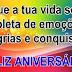 Mensagem de Aniversário  Dia de Alegria