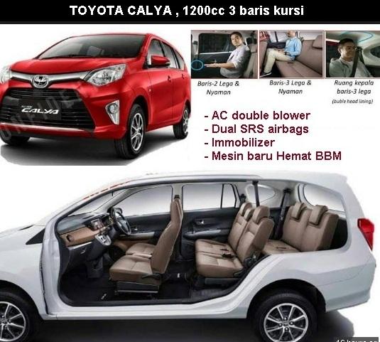 Harga Toyota Calya Makassar  Diskon Kredit Cicilan Mobil