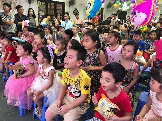 Tổ chức ngày Quốc tế thiếu hi 1/6 cho con em các thành viên Công ty BĐS Tuấn 123