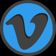vimeo icon outline