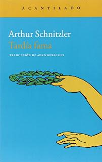 """Tardía forma"" - Arthur Schnitzler"