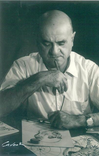 ALEXANDER SAROUKHAN Caricature portrait Competition